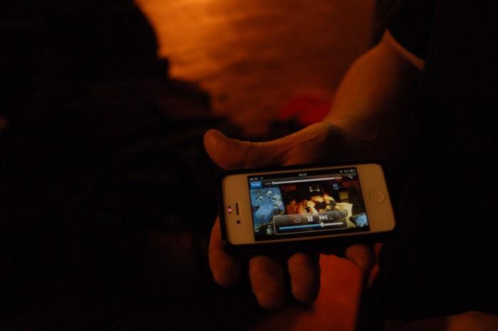 Livestream vom BarCraft Classic. Foto: Judith Wieser-Huber
